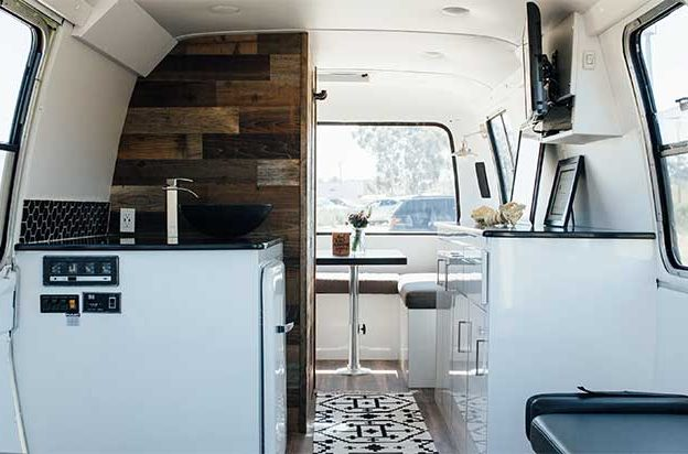Post Renovation of Mobile Chiro Care RV